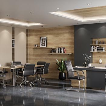 Офис, комната для совещаний.